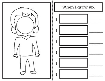 When I Grow Up Booklet
