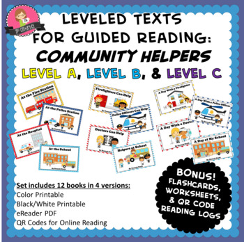 When I Grow Up Bundle Careers and Community Helpers K-1