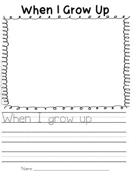 When I Grow Up Class Book
