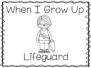 When I Grow Up Worksheet Kindergarten