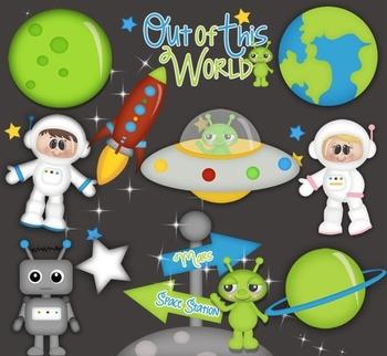 When  I Grow Up.. I wanna be An Astronaut CLIP ART clipart Cu Ok ~ Space Careers