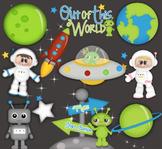 When  I Grow Up.. I wanna be An Astronaut CLIP ART clipart