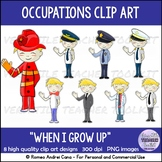 When I Grow Up: Jobs Clip Art
