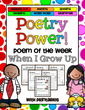 Poem of the Week: When I Grow Up Poetry Power!