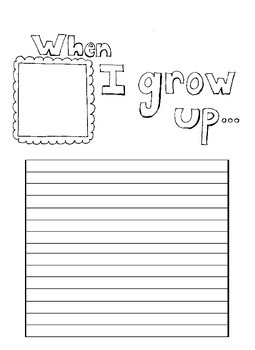 when i grow up writing
