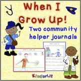 A Community Helper Writing Journal
