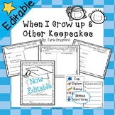 When I Grow up & Other End Of The Year Keepsakes (Editable)