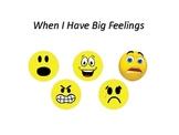 When I Have Big Feelings - Social Story
