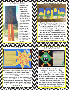 When I Look Up at the Sky: A Day and Night Thematic Unit Grades 1-3