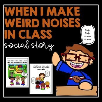 Social Stories Making Noise Worksheets & Teaching Resources | TpT