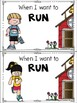 When I Want to Run {A Social Story About Running in School}