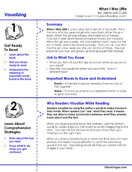 When I Was Little Lesson Plans & Activities Package, First Grade (CCSS)