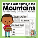 """""""When I Was Young In The Mountains"""" Literature Guide"""