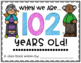 When I am 100 years old... Writing for the 100th day! (or 101st, 102nd, 103rd)