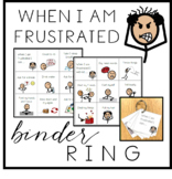 When I am Frustrated / Angry - Binder Ring
