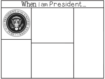 When I am President Graphic Organizer