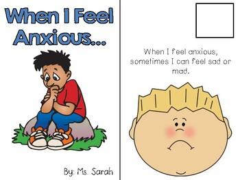 When I feel Anxious Social Story