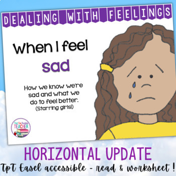 Feelings Emotions | When I feel sad - starring girls | Distance Learning