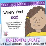 Identifying, managing feelings and emotions: sad girls