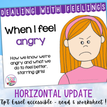 When I Feel Angry - a Dealing With Feelings storybook lesson (starring girls)