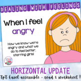 Identifying, managing feelings and emotions: angry girls
