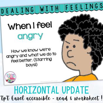 Feelings and emotions - boys