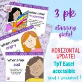 Feelings stories bundle - starring girls!