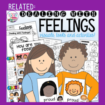When I feel anxious 2 pack - storybook lessons