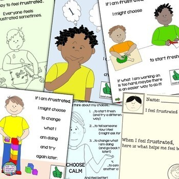When I Feel Frustrated -a Dealing With Feelings storybook lesson (starring boys)