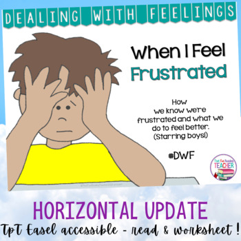 Feelings Emotions   When I Feel Frustrated - starring boys   Distance Learning