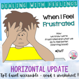 Identifying, managing feelings and emotions: frustrated boys