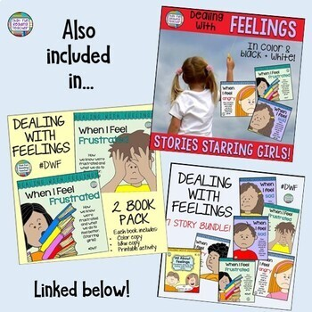 When I Feel Frustrated-a Dealing With Feelings storybook lesson (starring girls)