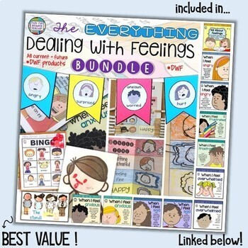 Feelings Emotions | When I Feel Frustrated - starring girls | Distance Learning