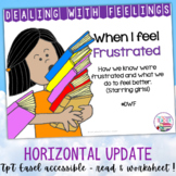 Identifying, managing feelings and emotions: frustrated girls