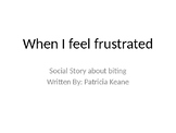 When I feel frustrated social story
