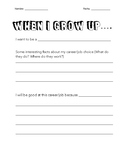 When I grow up Questionaire