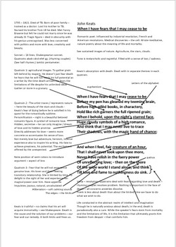 The Importance Of Learning English Essay When I Have Fears That I May Cease To Be By John Keats Analysis Writting Help also Business Essay Topics When I Have Fears That I May Cease To Be By John Keats Analysis Business Management Essays