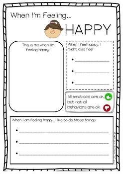 When I'm Feeling Happy... (American spelling)