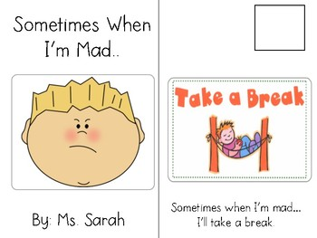 When I'm Mad-Adapted Book