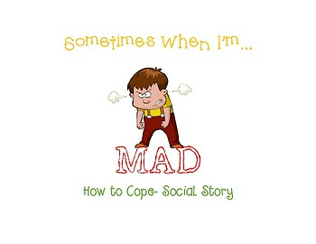 When I'm Mad Social Story
