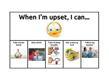 When I'm Upset Visual