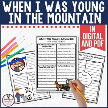 This patterned text is perfect for Then and Now or patterned writing. It's a great mentor text for making comparisons and connections too. Check out this post to learn more about Cynthia Rylant's work.