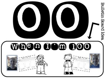 When I'm 100 {A Unit for the 100th Day of School}