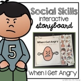 When I'm Angry - Story Interactive Storyboard { for Autism }