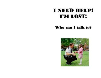 """""""When I'm Lost"""" Social Story"""