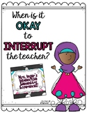 When Is It Okay to Interrupt? Posters
