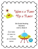 When Is a Planet Not a Planet Reading Wonders 5th Grade