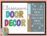 When It Rains Look for Rainbows... (Door Decor/Bulletin Board Kit)