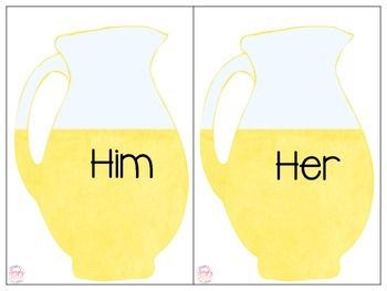 When Life Hands You Pronouns.... Make Lemonade!!