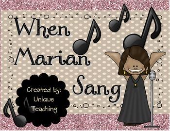 When Marian Sang: Mini-Lesson